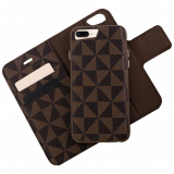 Apple iPhone 8 Plus/7 Plus Caseco Park Ave. Series RFID Blocking Folio Case - Brown