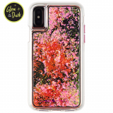 Apple iPhone X Case-Mate Waterfall Series Case - Glow Pink
