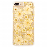 Apple iPhone 8 Plus/7 Plus/6s Plus Case-Mate Karat Petals Series Case - Antique White