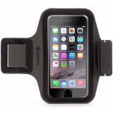 Apple iPhone 7/6s/6 Griffin Trainer Plus Armband - Black/Gray