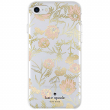 Apple iPhone 8/7/6s Kate Spade New York Protective Hardshell Case Blossom Pink/Gold