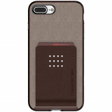 Apple iPhone 8 Plus/7 Plus Ghostek Exec 2 Series Case - Brown