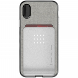 Apple iPhone Xs/X Ghostek Exec 2 Series Case - Silver