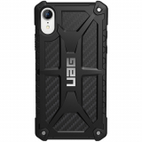 Apple iPhone XR Urban Armor Gear Monarch Case (UAG) - Carbon Fiber