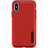 Apple iPhone Xs/X Incipio DualPro Series Case - Iridescent Red/Black
