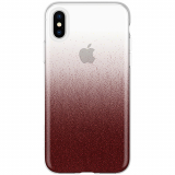 Apple iPhone Xs/X Incipio Design Classic Series Case - Cranberry Sparkler