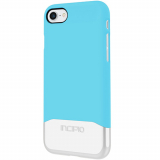 Apple iPhone 7 Incipio Edge Chrome Series Case - Sky Blue/Silver