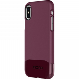 Apple iPhone Xs/X Incipio Edge Chrome Series Case - Plum