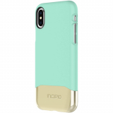 Apple iPhone Xs/X Incipio Edge Chrome Series Case - Teal/Gold