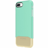 Apple iPhone 8/7 Incipio Edge Chrome Series Case - Teal/Gold