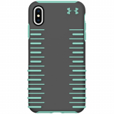 Apple iPhone Xs Max Under Armour UA Protect Grip 2.0 Series Case - Graphite/Mint