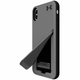 Apple iPhone Xs Max Under Armour UA Protect Kickstash Series Case - Graphite/Black