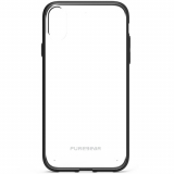 Apple iPhone XR PureGear Slim Shell Case - Clear/Black
