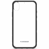 Apple iPhone XR PureGear DualTek Case - Clear/Black