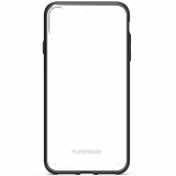 Apple iPhone Xs Max PureGear Slim Shell Case - Clear/Black