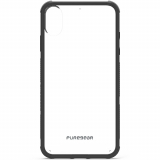 Apple iPhone Xs Max PureGear DualTek Case - Clear/Black