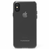 Apple iPhone Xs/X PureGear Slim Shell Case - Clear/Clear