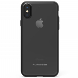 Apple iPhone Xs/X PureGear Slim Shell Case - Clear/Black