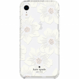 Apple iPhone XR Kate Spade New York Protective Hardshell Case - Hollyhock Cream/Blush