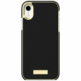 Apple iPhone XR Kate Spade New York Inlay Wrap Case - Black Saffiano