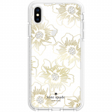 Apple iPhone Xs Max Kate Spade New York Defensive Hardshell Case - Reverse Hollyhock
