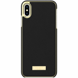 Apple iPhone Xs Max Kate Spade New York Inlay Wrap Case - Black Saffiano