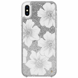 Apple iPhone Xs Max Kate Spade New York Full Clear Crystal Case - Hollyhock