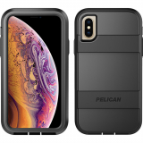 Apple iPhone Xs/X Pelican Voyager Series Case - Black/Black