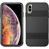 Apple iPhone Xs Max Pelican Voyager Series Case - Black/Black