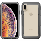 Apple iPhone Xs Max Pelican Voyager Series Case - Clear/Grey