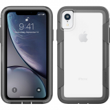Apple iPhone XR Pelican Voyager Series Case - Clear/Grey