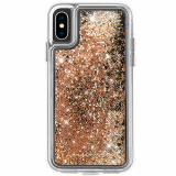 Apple iPhone Xs Case-Mate Waterfall Collection Series Case - Gold