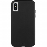 Apple iPhone Xs Case-Mate Barely There Leather Series Case - Black