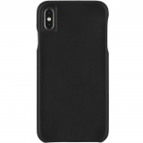 Apple iPhone Xs Max Case-Mate Barely There Leather Series Case - Black