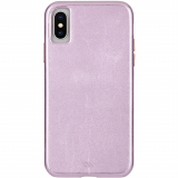 Apple iPhone Xs Max Case-Mate Barely There Leather Series Case - Metallic Blush