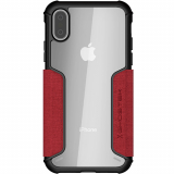 Apple iPhone Xs/X Ghostek Exec 3 Series Case - Red