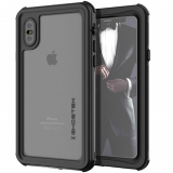 Apple iPhone Xs Ghostek Nautical Series Waterproof Case - Black