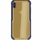 Apple iPhone Xs Max Ghostek Cloak 4 Series Case - Blue/Gold