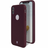 **NEW**Apple iPhone Xs Max Caseco Skin Shield Series Case - Maroon