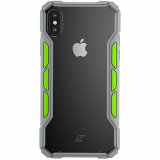 Apple iPhone Xs/X Element Case Rally Series Case - Light Grey/Lime