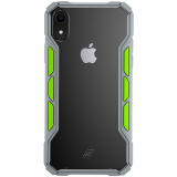 Apple iPhone XR Element Case Rally Series Case - Light Grey/Lime