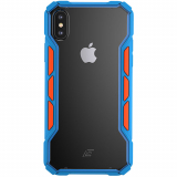 Apple iPhone Xs Max Element Case Rally Series Case - Blue/Orange