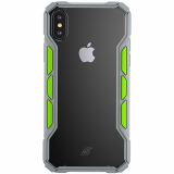 Apple iPhone Xs Max Element Case Rally Series Case - Light Grey/Lime