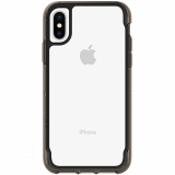 **NEW**Apple iPhone Xs/X Griffin Survivor Clear Series Case - Clear/Black