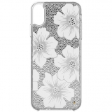 Apple iPhone XR Kate Spade New York Full Clear Crystal Case - Hollyhock
