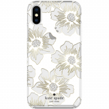 Apple iPhone Xs Max Kate Spade New York Protective Hardshell Case - Reverse Hollyhock