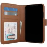 Apple iPhone Xs Max Skech Polo Book Series Case - Brown