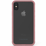 **NEW**Apple iPhone Xs/X PureGear DualTek Case - Clear/Soft Pink