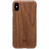 Apple iPhone Xs Max Woodcessories EcoCase Slim Case - Walnut