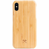 Apple iPhone Xs Max Woodcessories EcoCase Slim Case - Bamboo